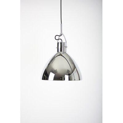 Laito 1-Light Inverted Pendant Shade Color: Chrome