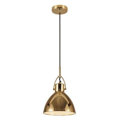Laito 1-Light Inverted Pendant Shade Color: Copper