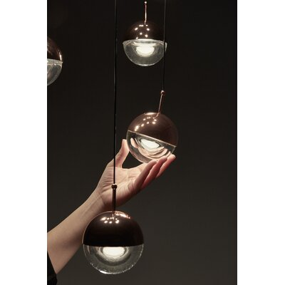 Dora 1-Light Mini Pendant Finish: Copper