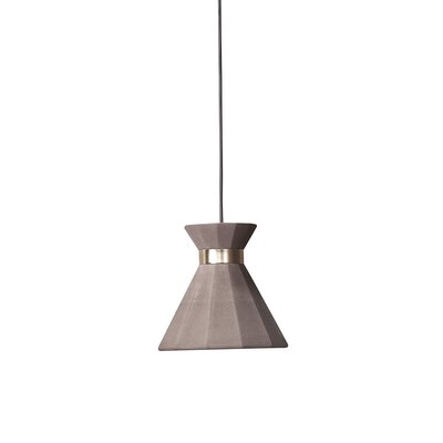 Castle Mermaid 1-Light Mini Pendant Finish: Satin, Size: 78.7 H x 9.4 W x 9.4 D