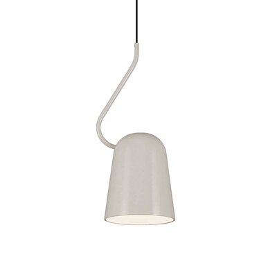 Dodo 1-Light Mini Pendant Finish: White