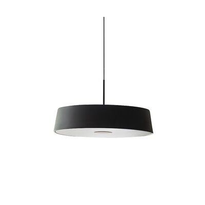1-Light Drum Pendant Finish: Black/Oil Bronze