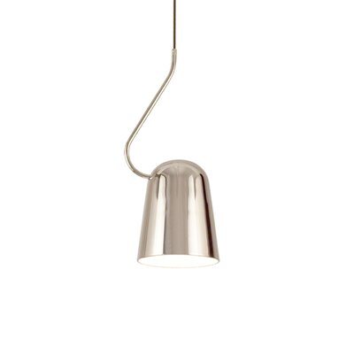 Dodo 1-Light Mini Pendant Finish: Chrome