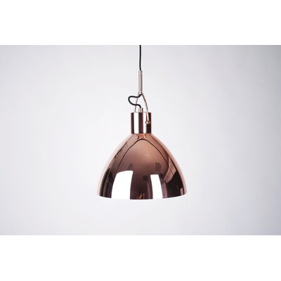 Laito 1-Light Bowl Pendant Finish: Copper