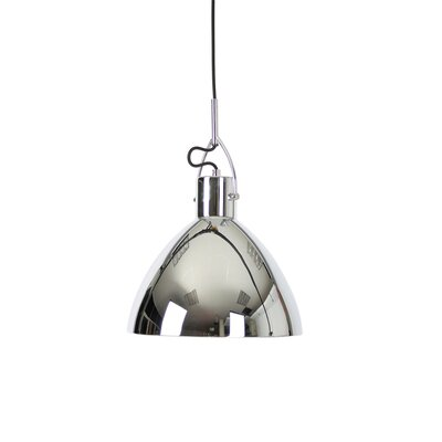 Laito 1-Light Bowl Pendant Finish: Chrome
