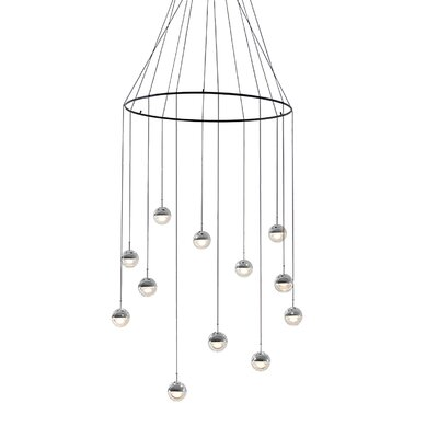 Dora 12-Light Cluster Pendant