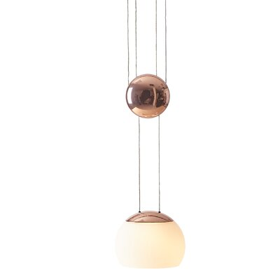 JoJo 1-Light Mini Pendant Finish: Copper