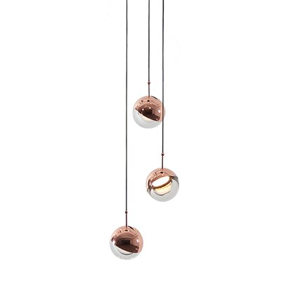 Dora 3-Light Cluster Pendant Finish: Copper