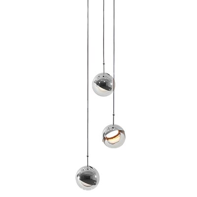 Dora 3-Light Cluster Pendant Finish: Chrome