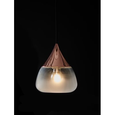 Mist 1-Light Mini Pendant Color: Copper