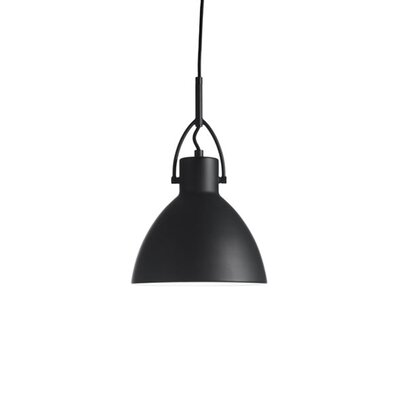 Laito 1-Light Inverted Pendant Shade Color: Black