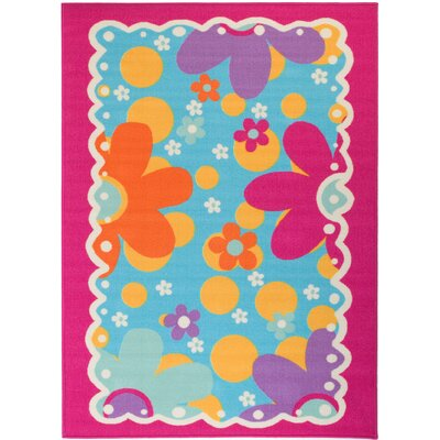 Rose Area Rug Rug Size: Rectangle 7 x 106