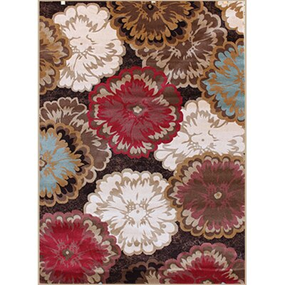 Gulistan Power Loomed Brown Area Rug Rug Size: Runner 28 x 92