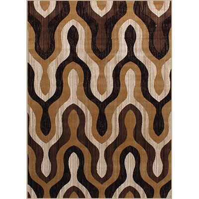 Gulistan Power Loomed Teracotta Area Rug Rug Size: 2 x 3