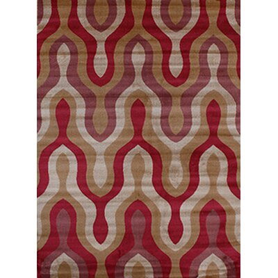 Gulistan Power Loomed Brown Area Rug Rug Size: Runner 28 x 72