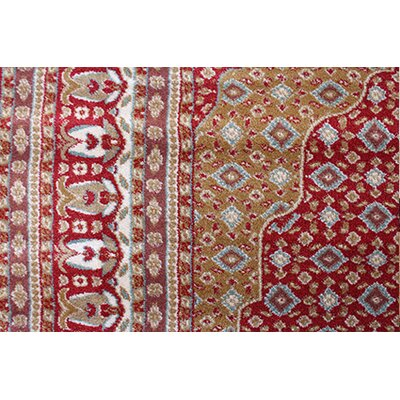 Gulistan Power Loomed Burgundy Area Rug Rug Size: 28 x 5