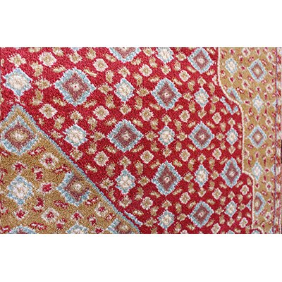Gulistan Power Loomed Burgundy Area Rug Rug Size: Runner 28 x 72