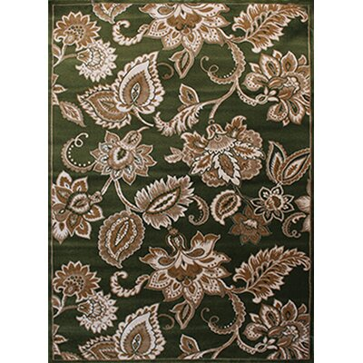 Gulistan Power Loomed Light Green Area Rug Rug Size: Runner 28 x 7 2