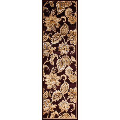 GulistanPower Loomed Burgundy Area Rug Rug Size: Runner 28 x 72
