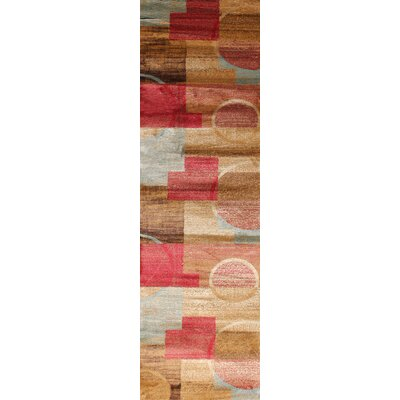 Gulistan Power Loomed Teracotta Area Rug Rug Size: Runner 2 x 7