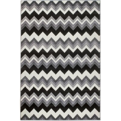Summit Elite Gray Area Rug Rug Size: 4 x 5