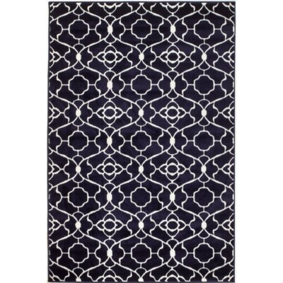 Summit Elite Navy Blue Area Rug Rug Size: 8 x 11