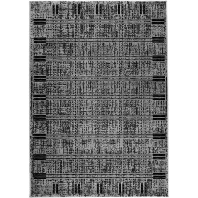 Chateau Gray Area Rug Rug Size: 74 x 106