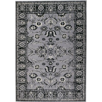 Chateau Gray Area Rug Rug Size: 5 x 7