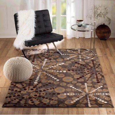Venice Gray Area Rug Rug Size: 74 x 106
