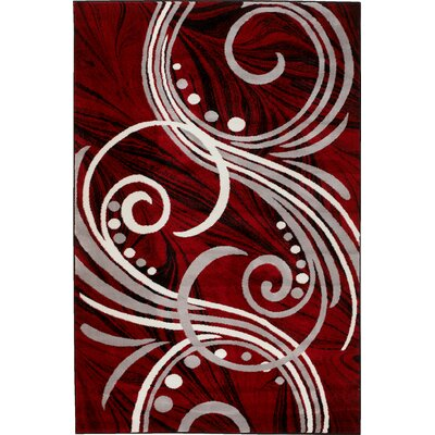 Summit Elite Red Area Rug Rug Size: 4 x 5