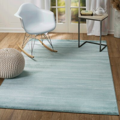 Summit Elite Blue Area Rug Rug Size: 38 x 5