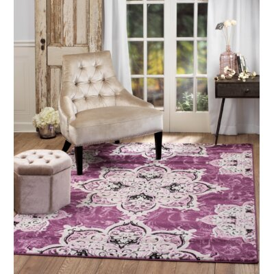 Chatham Magenta Area Rug Rug Size: Runner 11 x 7