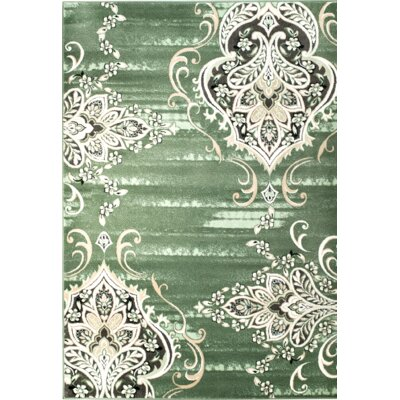 Chatham Green Area Rug Rug Size: 3'8'' x 5'