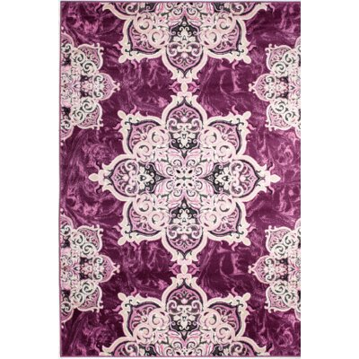Chatham Magenta Area Rug Rug Size: 3'8'' x 5'