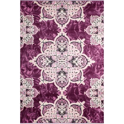 Chatham Magenta Area Rug Rug Size: 5 x 7