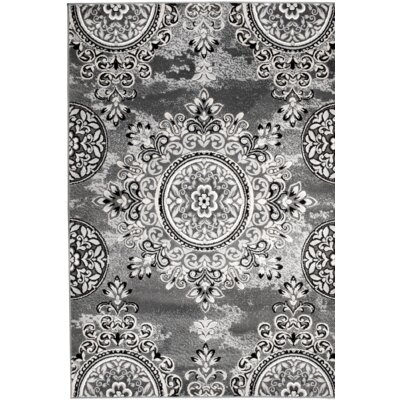 Chatham Gray Area Rug Rug Size: 5' x 7'
