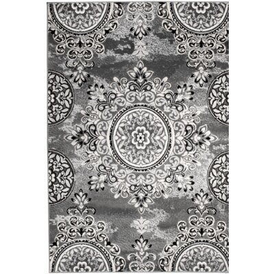 Chatham Gray Area Rug Rug Size: 7'4'' x 10'6''