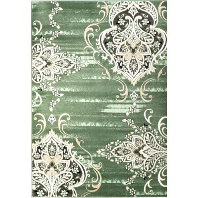 Chatham Green Area Rug Rug Size: 74 x 106