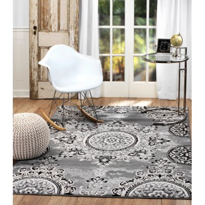Chatham Gray Area Rug Rug Size: Runner 11 x 7