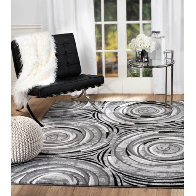 Chatham Gray Area Rug Rug Size: Runner 110 x 7