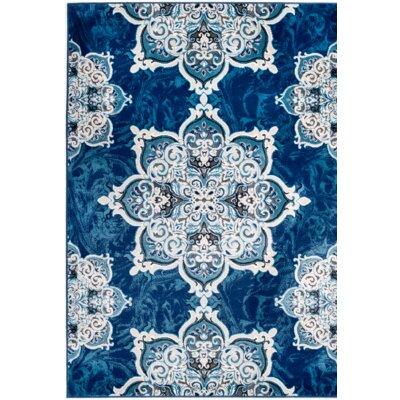 Chatham Blue Area Rug Rug Size: 74 x 106