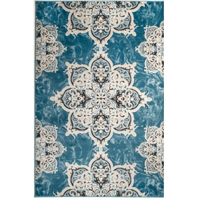 Chatham Light Blue Area Rug Rug Size: 1'10