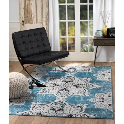 Chatham Light Blue Area Rug Rug Size: Runner 11 x 7