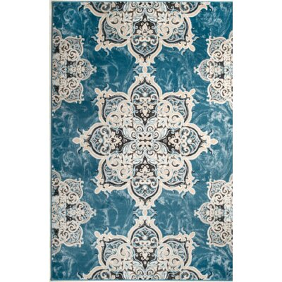 Chatham Light Blue Area Rug Rug Size: 5' x 7'