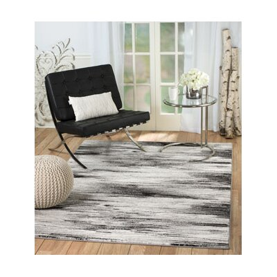 Shawn Gray Area Rug Rug Size: 5 x 7