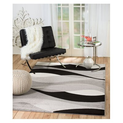 Grimes Gray Area Rug Rug Size: Runner 2 x 7