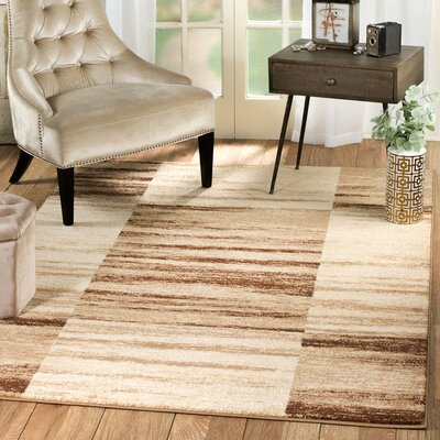 Anabella Taupe Area Rug Rug Size: Runner 2 x 7