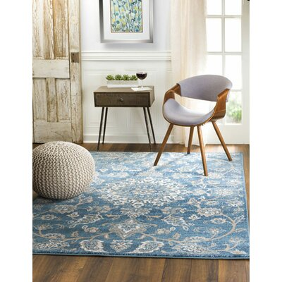 Chartridge Oriental Blue Area Rug Rug Size: Runner 2 x 7