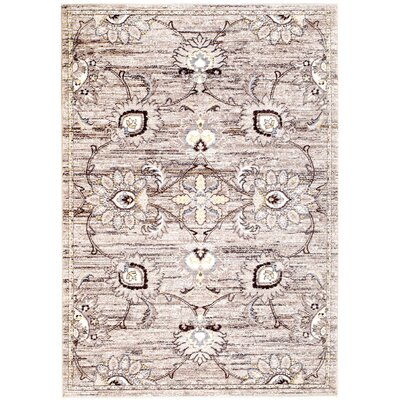 Andrews Brown Area Rug Rug Size: 2 x 3