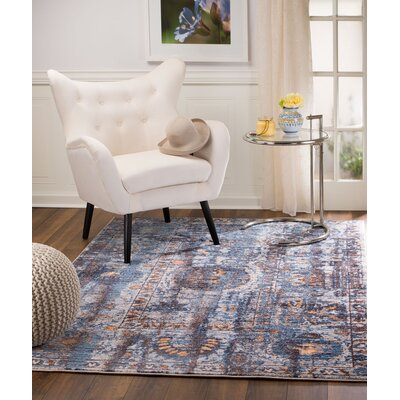 Andrews Taupe Area Rug Rug Size: 38 x 57